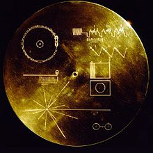 La custodia del Voyager Golden Record