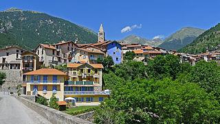 Saint-Martin-Vésubie Commune in Provence-Alpes-Côte dAzur, France