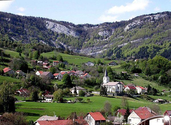 Photo de la ville Champfromier