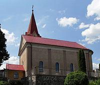 Vyšný Klátov Farský kostol Najsvätejšej Trojice 2.jpg