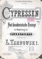 W. Tarnowski - Cypressen 1 - Herangedämmert kam der Abend.pdf