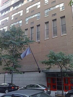 Collegiate School (New York City) - Collegiate School campus
