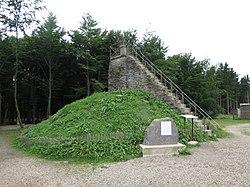 Waimes - la Butte Baltia - monument 2016.jpg