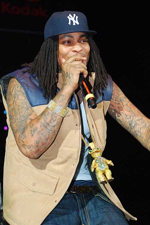 Trap music - Trap rapper Waka Flocka Flame in 2010