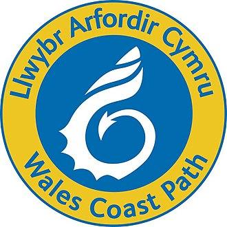 Wales Coast Path - The Wales Coast Path shell logo