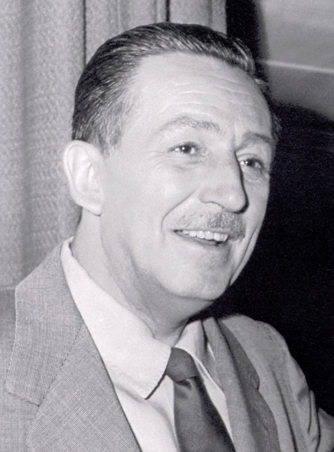 Walt disney portrait right