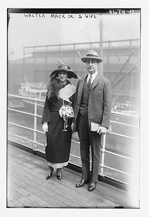 Walter Staunton Mack Jr. - Image: Walter Staunton Mack, Jr. (1895 1990) in 1918