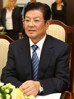 Wang Zhaoguo - Image: Wang Zhaoguo Senate of Poland