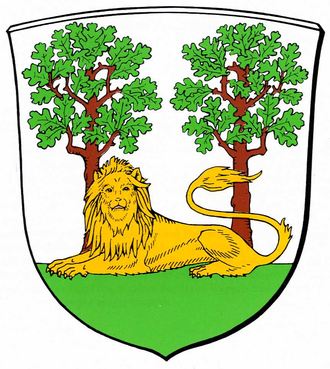 Hanover Region - Image: Wappen Burgdorf (Region Hannover)