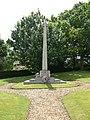 War Memorial at East Knoyle - geograph.org.uk - 1037038.jpg