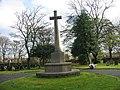 War Memorial in Jarrow Cemetery - geograph.org.uk - 1574706.jpg