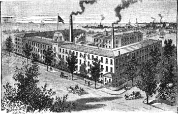 Factory of Warner Brothers Bridgeport Conn.