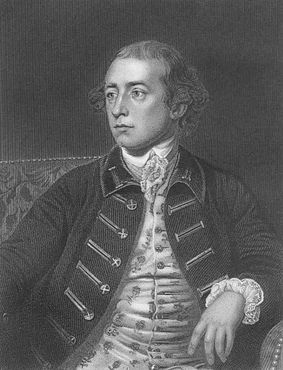 Warren Hastings, the first governor-general of Fort William from 1773 to 1785. Warren Hastings greyscale.jpg