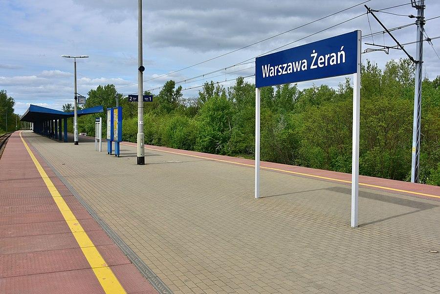 Warszawa Żerań railway station