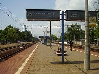 Warszawa Rembertów railway station - Image: Warszawa Rembertów stacja kolejowa