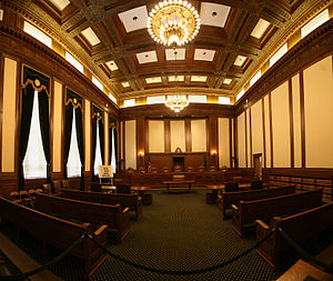 Washington Supreme Court - Image: Wash Supreme Ct Interior