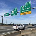 Washington Bridge signs for eastbound traffic.jpg
