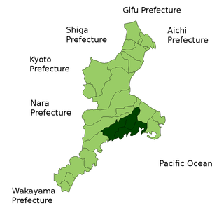 district of Mie Prefecture, Japan