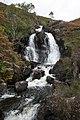 Waterfall above Loch Morar - geograph.org.uk - 565613.jpg