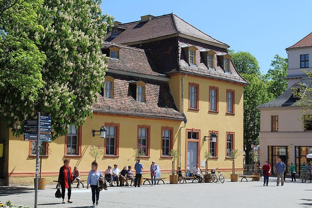 Weimar, das Wittumspalais