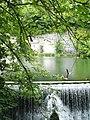 Weir at Water cum Jolly Dale, River Wye - geograph.org.uk - 1366007.jpg