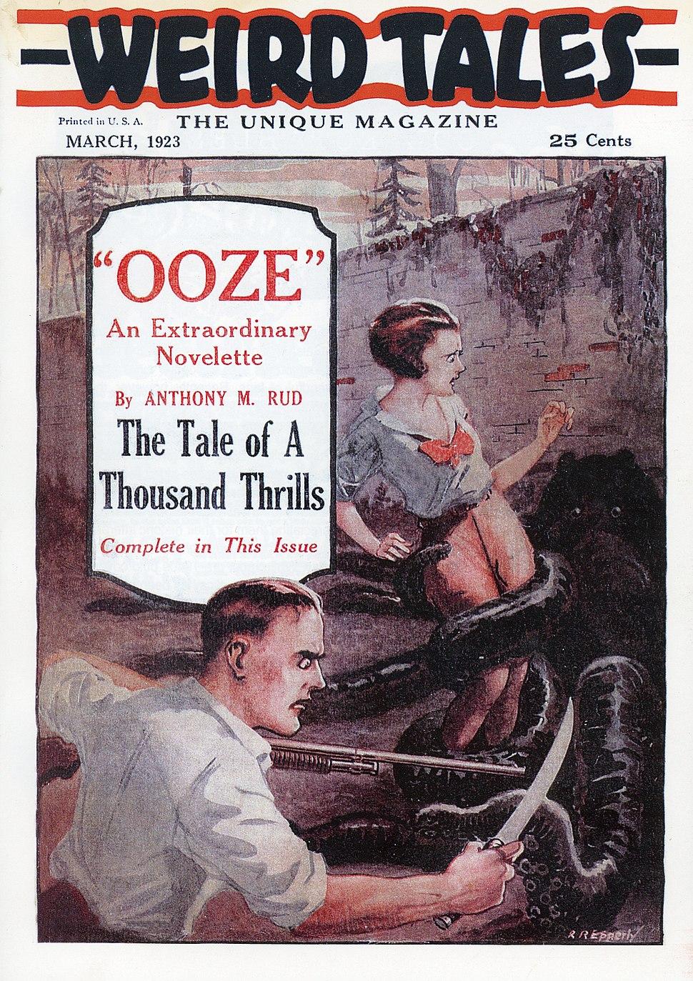 Weird Tales March 1923