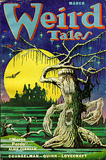 Weird Tales cover image for March 1952