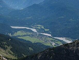 Weißenbach from the Leilachspitze