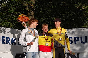 Winners of Belgian Triathlon Championship, Olympic distance.