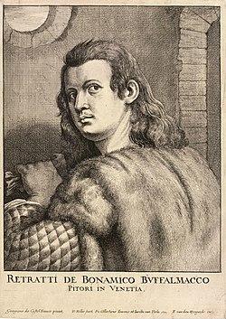 Wenceslas Hollar - Buffalmacco or 'Todescho di Casa Fuchera' (State 2).jpg