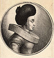 Wenceslas Hollar - Woman with large fur cap and ornament on back (State 1).jpg