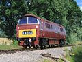 Whiskey Crossing D1035 (D1010 renumbered) light engine.jpg