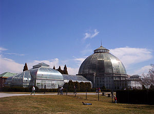 Whitcomb Conservatory on Detroit's Belle Isle