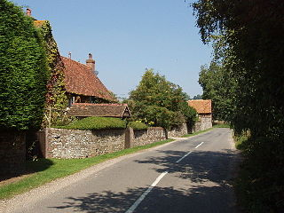 Stonor village in United Kingdom