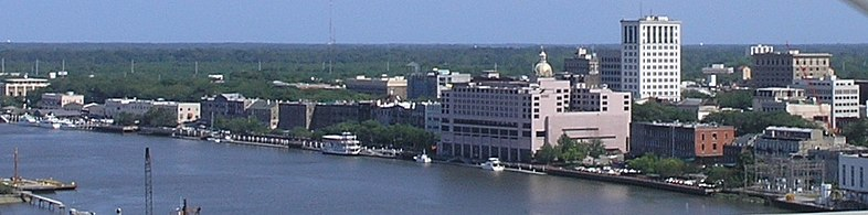 Skyline of Savannah