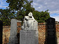 Wien-Simmering - Zentralfriedhof evangelische Abteilung - Grab der Familie Ungethüm mit Grabstein von Carl Philipp.jpg
