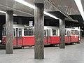 Wien - Zweistöckige Straßenbahnwendeschleife am Schottentor - Linien 37,38,40,41,42,43,44 (6267055585).jpg