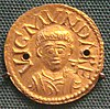 Wigmund archibishop of York 837 854 gold solidus.jpg