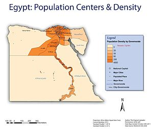 Demographics of Egypt - Image: Wiki Project Final