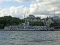 Wikimania 2014 - 0802 - HMS President - Dazzle220142.jpg