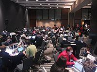 Wikimania 2015-Wednesday-Hackathon (4).jpg