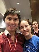 Wikimania 2017 by Deryck day 0 - 18 Emily.jpg