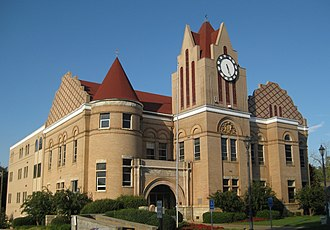 Wilkes County, Georgia - Image: Wilkes County Courthouse, Washington, Georgia