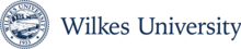 Wilkes University Seal Horizontal Blue.png