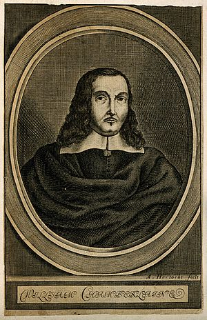 William Chamberlayne (poet) - William Chamberlayne line engraving by A. Hertocks, 1659