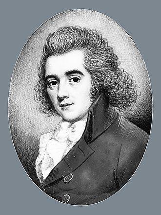 William Paulet Carey - William Paulet Carey, miniature portrait