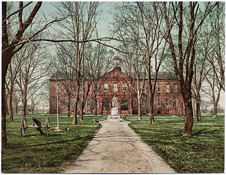 College of William & Mary - The college, c. 1902