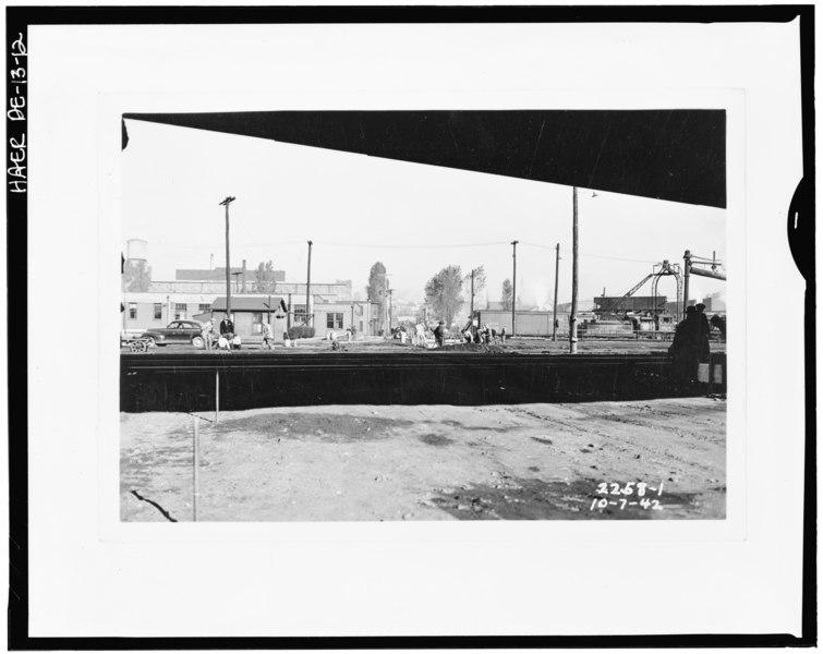 File:Wilmington and Northern Railroad, Repair Shop, Beech Street, Wilmington, New Castle County, DE HAER DEL,2-WILM,34-12.tif