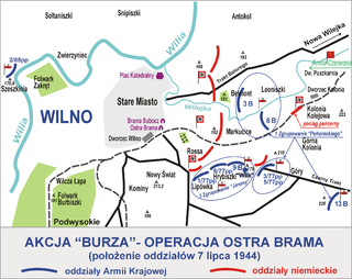 Operation Ostra Brama battle