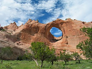 Window Rock, Arizona - Image: Window rock AZ